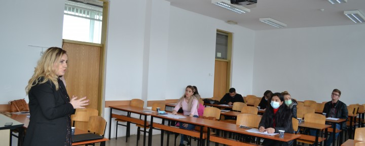 Comsense Kosovo holds information meeting with nursing graduates and students at the Faculty of Medicine